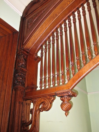 More of the fabulous hand-carved woodwork.