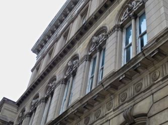 I like the animal heads at the top of each window.