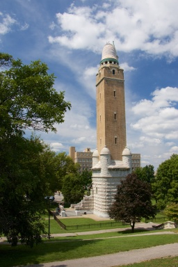 179-foot tower was completed in 1899.
