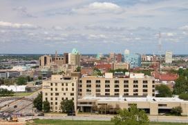 St. Louis University Hospital complex.