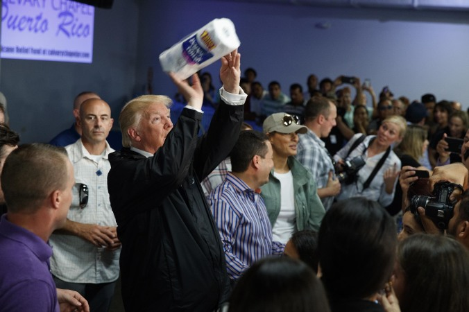 Trump-paper towels